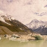 Hooker Glacier & Mt. Cook