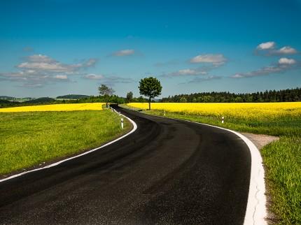 Vysočina road